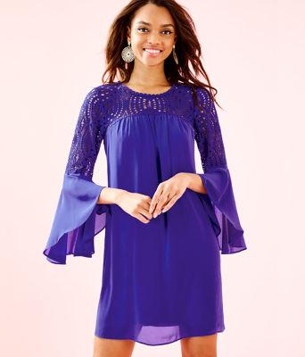 Amenna Dress, Royal Purple, large