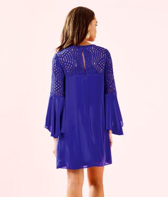 Amenna Dress, Royal Purple, large 1