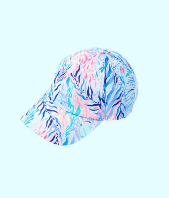 Run Around Hat, Crew Blue Tint Kaleidoscope Coral Accessories Small, large 2