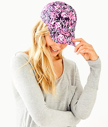 Run Around Hat, Hibiscus Pink Hangin With My Boo Accessories Small, large