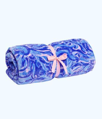 Paradise Blanket, Coastal Blue Whispurr, large 0