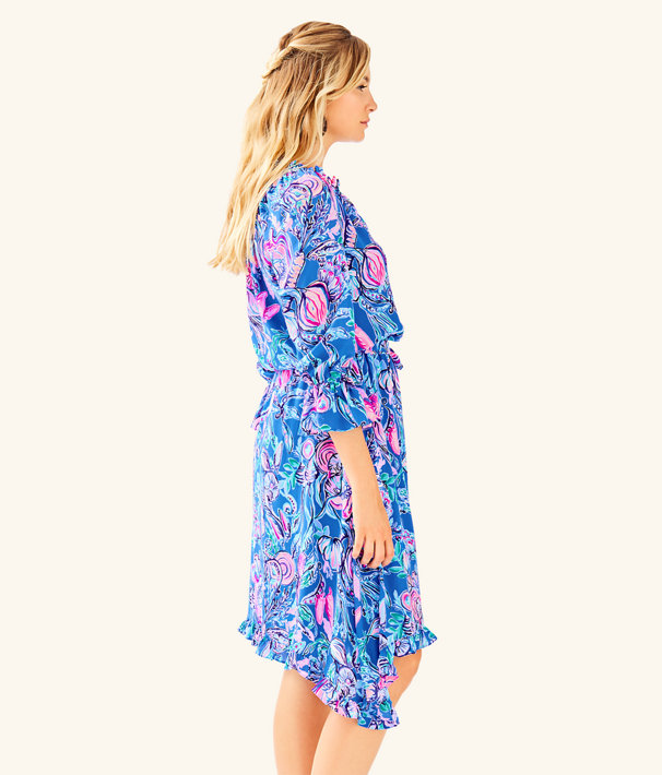 Alyanna Midi Dress, Multi Back To Our Roots, large