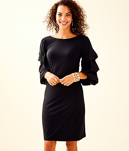Leonie Dress, Onyx, large