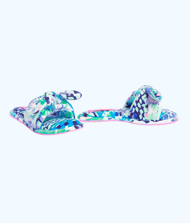 Shoreline Slipper, Turquoise Oasis Wave After Wave, large