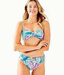 Josette Bikini Top, Multi Postcards From Positano, large