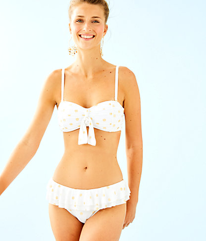 Josette Bikini Top, Resort White Squeeze the Juice, large
