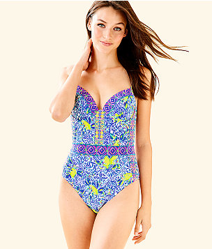 Palma One Piece Swimsuit, , large