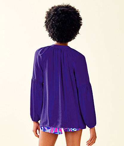 Anela Top, Royal Purple, large 1