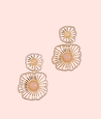 Show Stopper Earrings, Pink Tropics Tint, large 0