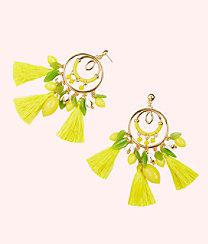 Lemon Grove Earrings, Pineapple Juice, large
