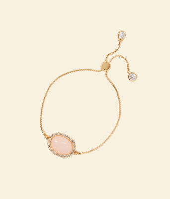 Show Stopper Pull Tie Bracelet, Pink Tropics Tint, large