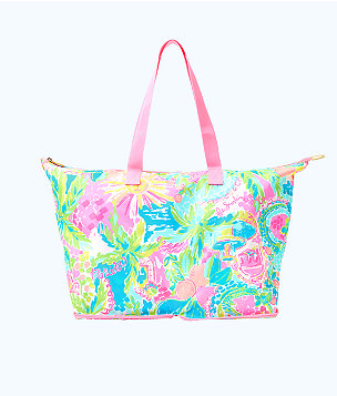 Getaway Packable Tote, Multi Sunshine State Of Mind, large