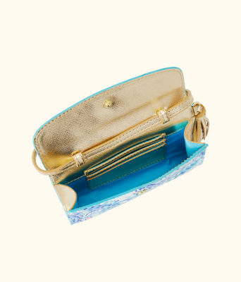 Mallorca Crossbody Bag, Turquoise Oasis Wave After Wave Accessories Small, large 1