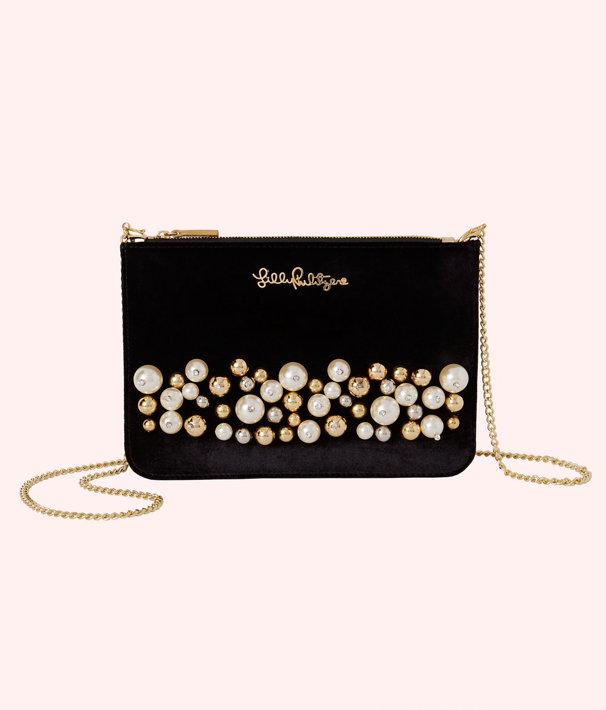 Velvet Cruisin Crossbody Bag, Onyx, large