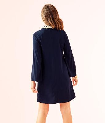 Gracelynn Stretch Tunic Dress, True Navy, large 1