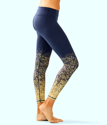 "UPF 50+ Luxletic 26"" Weekender Midi Legging, True Navy Anything Is Possible Engineered Luxletic, large"