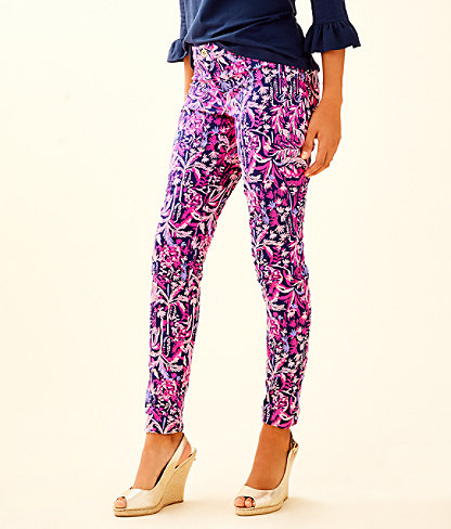 """29"""" Kelly Skinny Ankle Pant, Bright Navy Swing Of Things, large"""