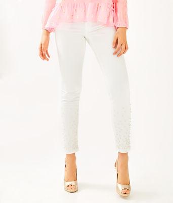 "29"" Worth Skinny Jean - Custom Pearl Embellishment, , large"