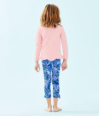 Girls Maia Legging, Coastal Blue Whispurr, large 1