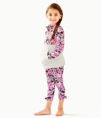 Girls Maia Legging, Hibiscus Pink Hangin With My Boo, large