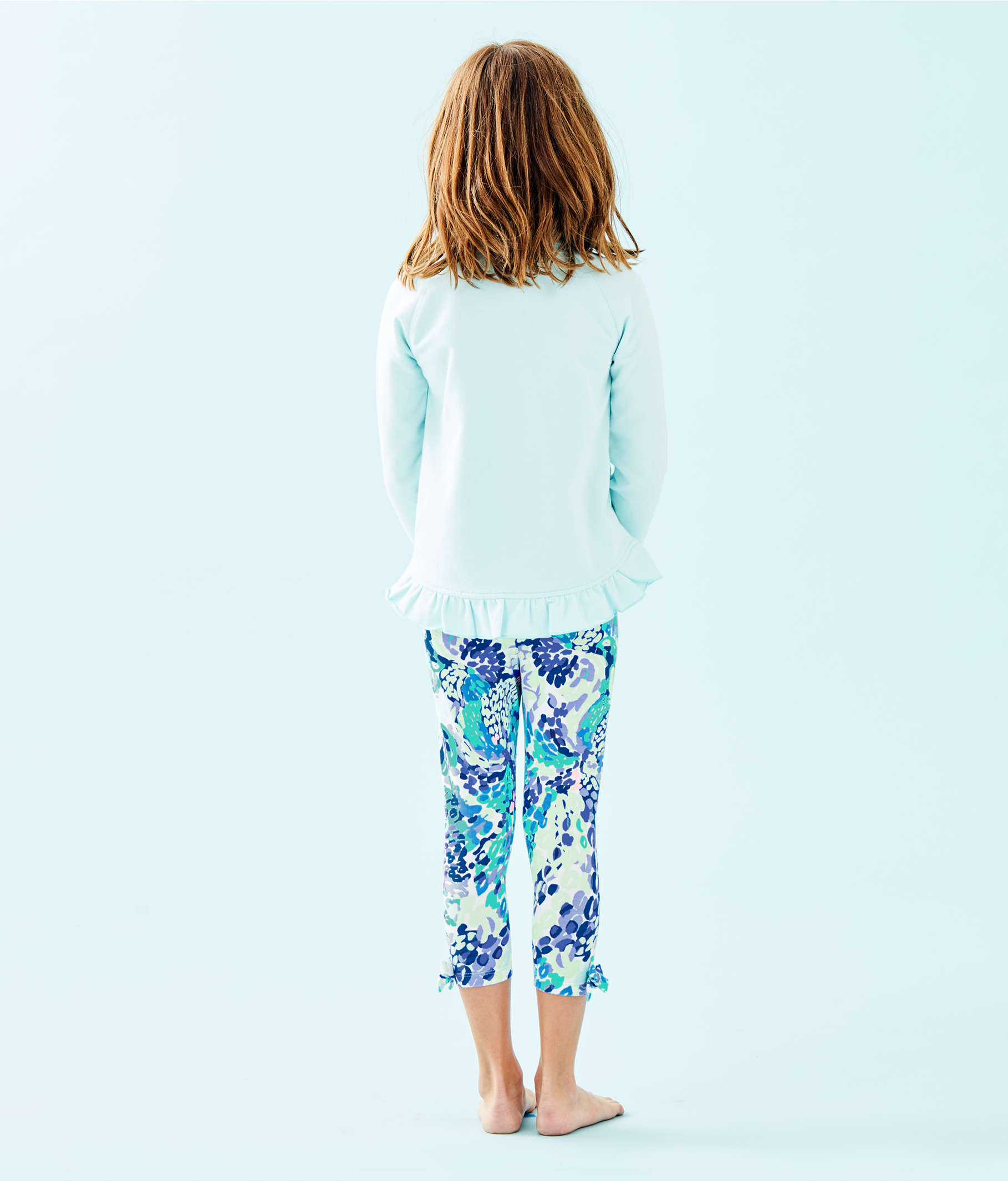 34d55d95e847c ... Girls Maia Legging, Turquoise Oasis Wave After Wave, large ...