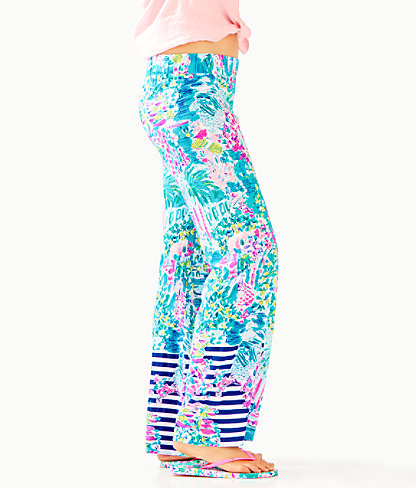 """33"""" Bal Harbour Palazzo Pant, Multi Postcards From Positano Engineered Pant, large 2"""