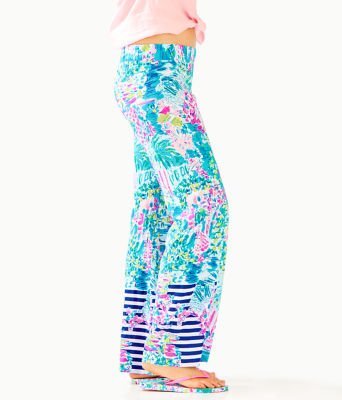 """33"""" Bal Harbour Palazzo Pant, Multi Postcards From Positano Engineered Pant, large"""