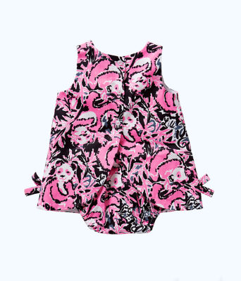 Baby Lilly Shift, Hibiscus Pink Hangin With My Boo, large