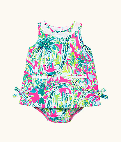 Baby Lilly Shift, Multi Snap Back, large