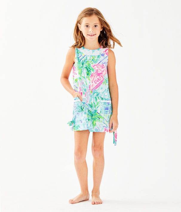 cd696aa8d Girls Little Lilly Classic Shift Dress