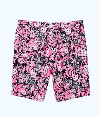 Mens Beaumont Short, Hibiscus Pink Hangin With My Boo, large 1