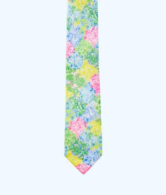 Mens Silk Tie, Multi Cheek To Cheek Tie, large