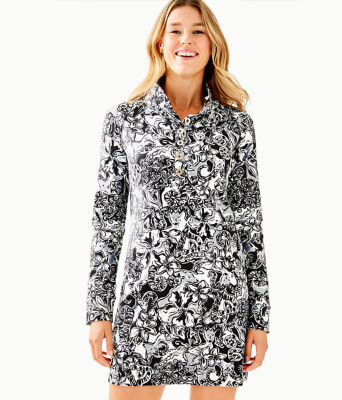 UPF 50+ Captain Dress, Onyx With A Twist, large