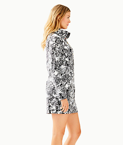 UPF 50+ Captain Dress, Onyx With A Twist, large 2