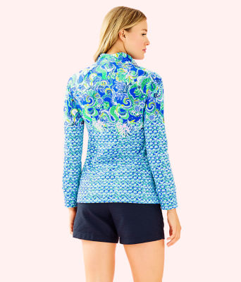 UPF 50+ Skipper Popover, Blue Grotto Sirens and Spirits Engineered Skipper, large