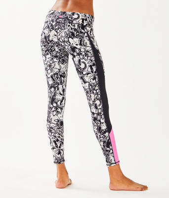 "UPF 50+ Luxletic 26"" Weekender Legging, Onyx With A Twist, large 1"