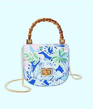 32b54350b2 Leilani Bamboo Top Handle Mini Bag