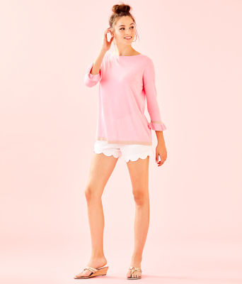Charla Sweater, Coral Reef Tint Heather, large