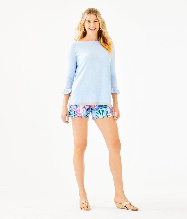 Charla Sweater, Heathered Crew Blue Tint, large