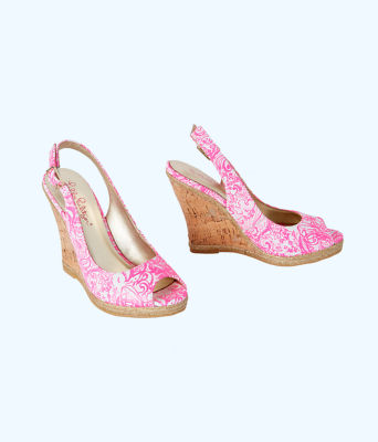 Krisie Wedge, Pink Tropics Tint Bunny Hop Accessories Small, large