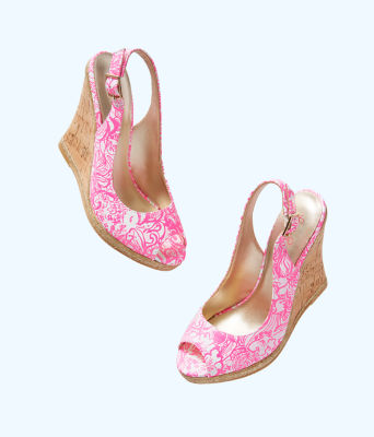 Krisie Wedge, Pink Tropics Tint Bunny Hop Accessories Small, large 1