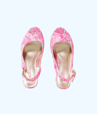 Krisie Wedge, Pink Tropics Tint Bunny Hop Accessories Small, large 2