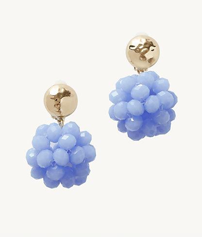 Caliente Clip On Earrings, Blue Peri, large 0