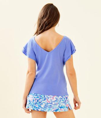 Elly Top, Blue Hyacinth, large