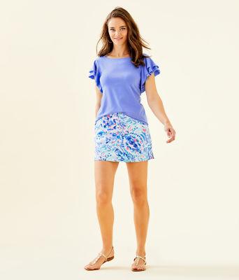Elly Top, Blue Hyacinth, large 2
