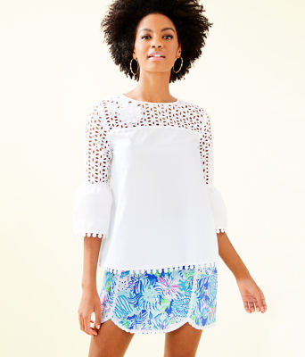 Chandler Top, Resort White, large 0