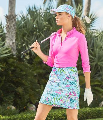 Hutton Polo - UPF 50+, Pink Tropics, large