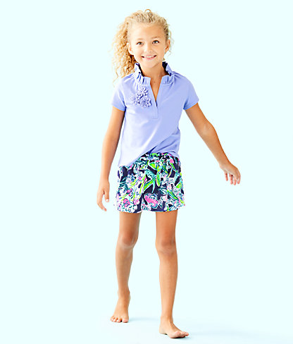 Girls Thierry Polo, Blue Hyacinth, large 0