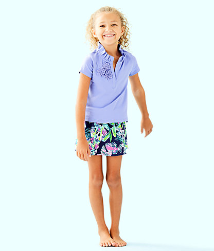 Girls Thierry Polo, Blue Hyacinth, large 2