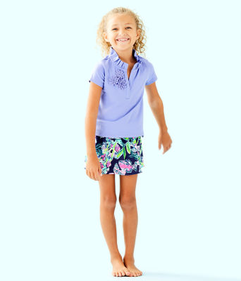 Girls Thierry Polo, Blue Hyacinth, large